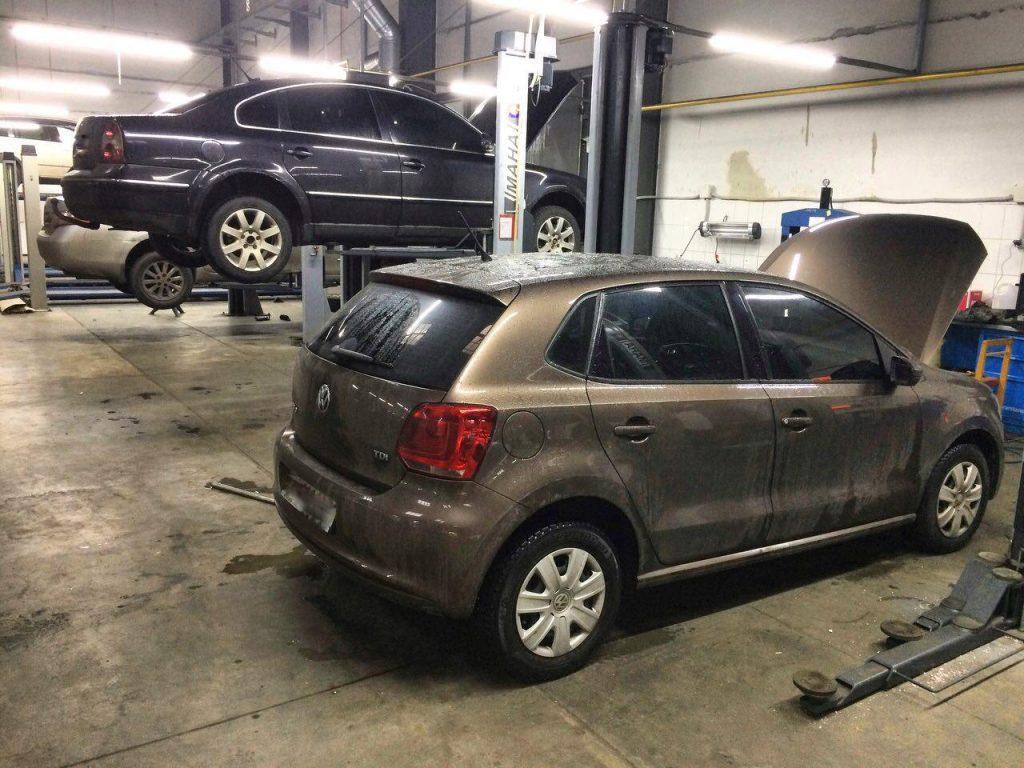 Отключить и заглушить ЕГР-клапан на Volkswagen Polo 1.2 TDi 2012