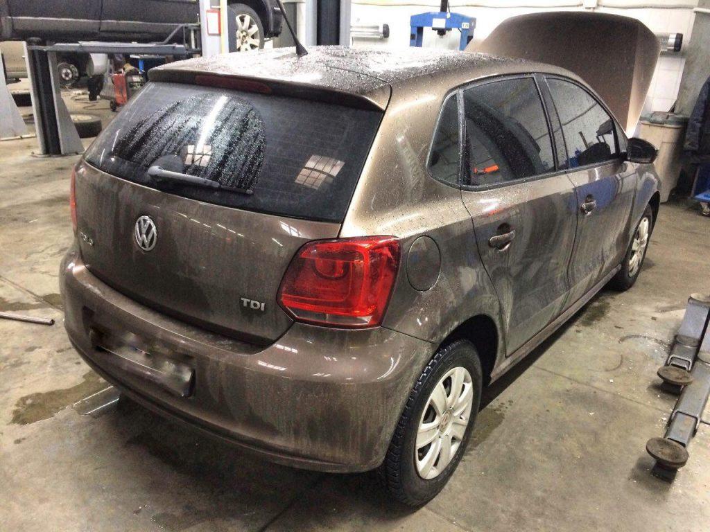 Отключение клапана ЕГР на Volkswagen Polo 1.2 TDi 2012