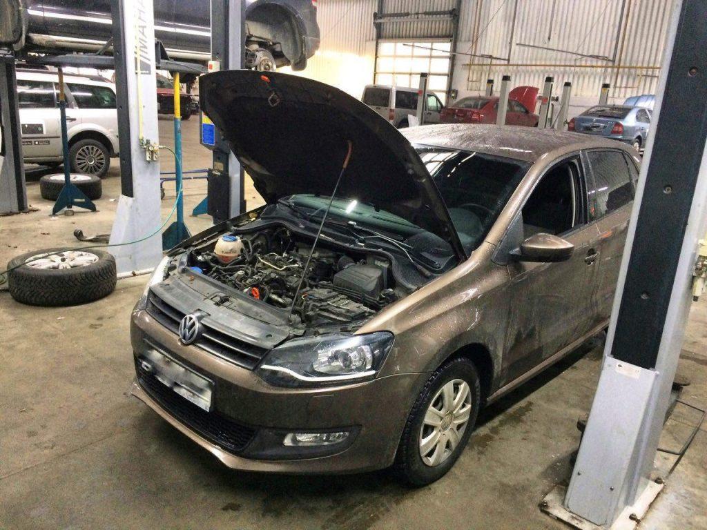 Клапан ЕГР, заглушка и отключение Volkswagen Polo 1.2 TDi 2012