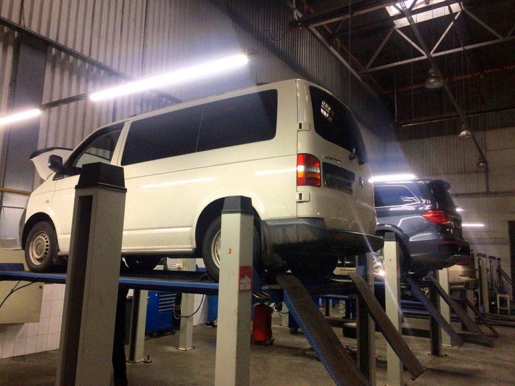 Отключение и удаление сажевого фильтра Volkswagen Т5 2.5 TDi 2008