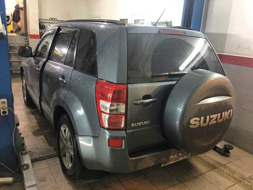 Отключить и удалить катализатор Suzuki Grand Vitara 2.0 2008