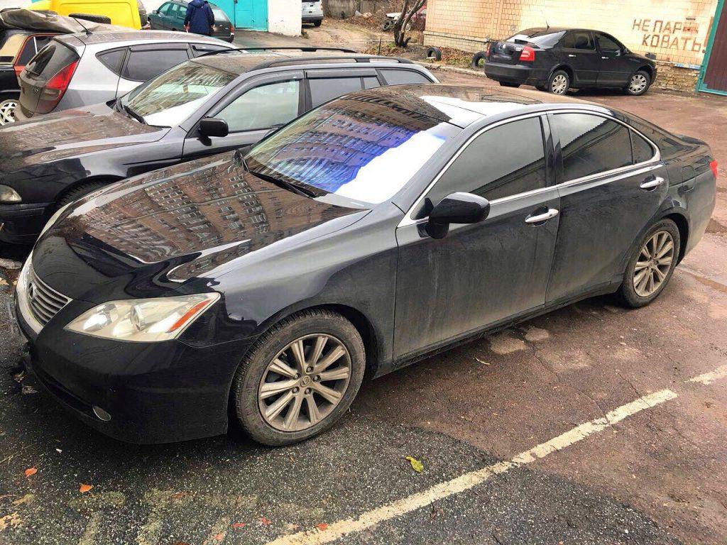 Lexus ES350 2008 удалить и отключить катализаторы