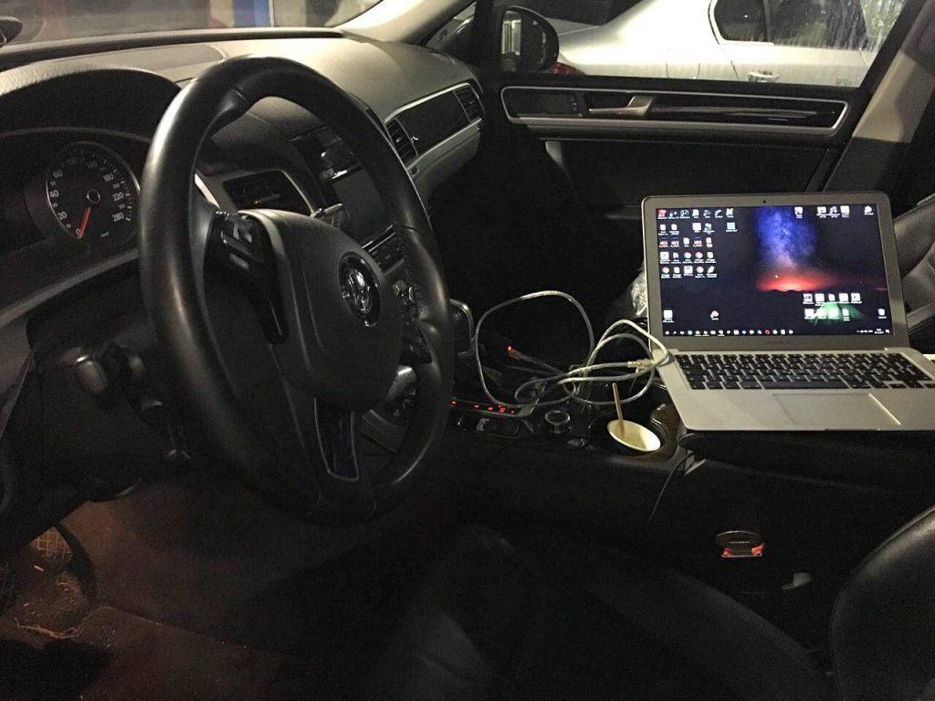Отключение сажевого фильтра Volkswagen Touareg 3.0 TDI 2013