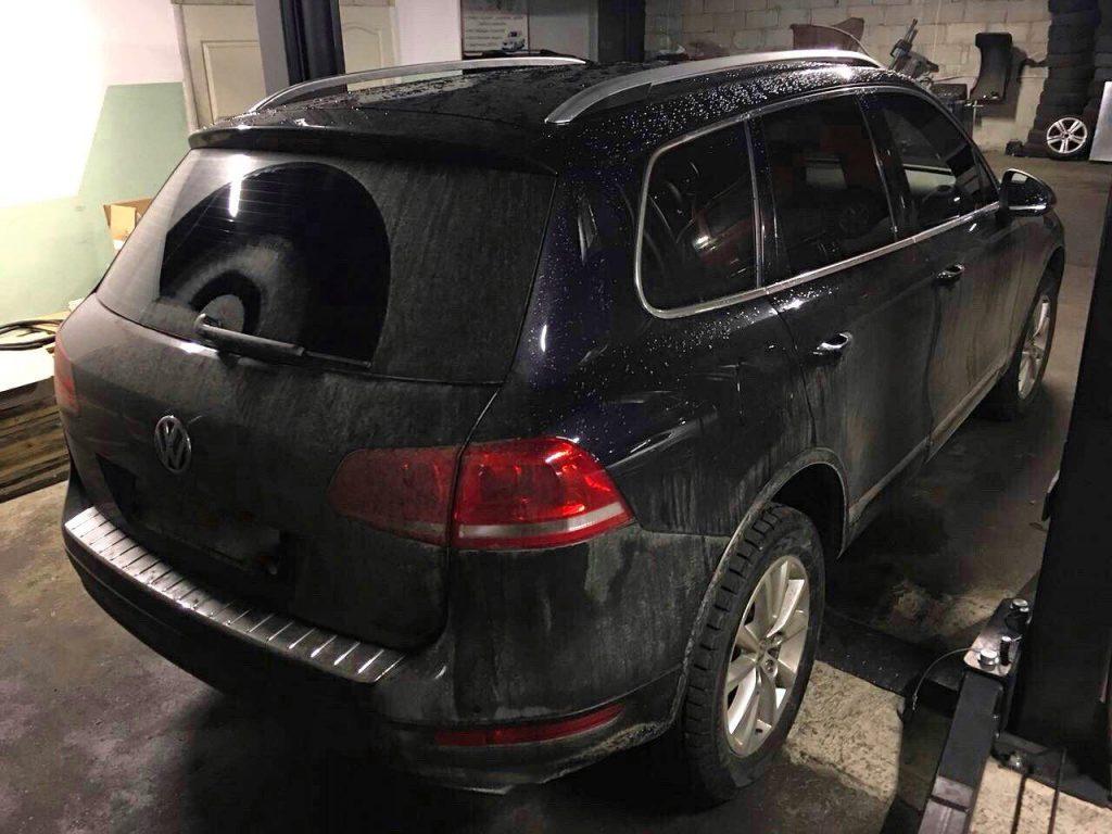 Отключить и удалить сажевый фильтр в Киеве на Volkswagen Touareg 3.0 TDI 2013