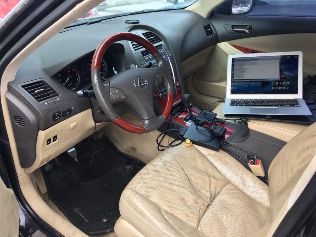Отключение катализаторов Lexus ES 350 ГБО 2006