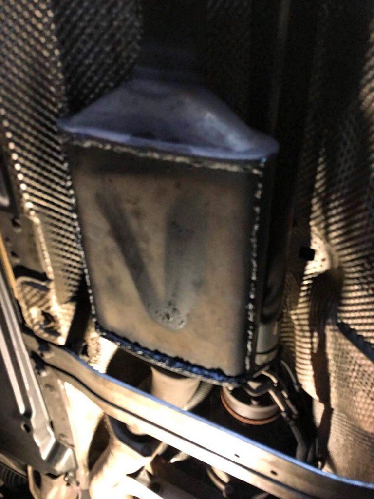 Сажевый фильтр, отключить в Киеве на Audi A6 3.0 TDi 2004