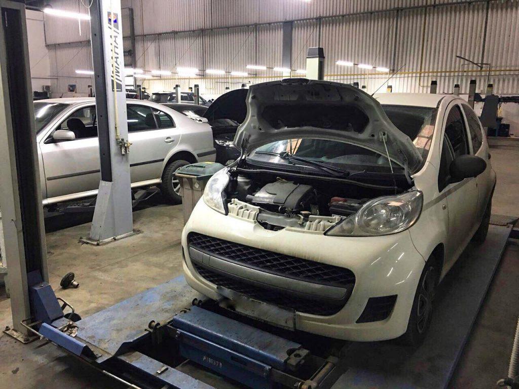 Удалить сажевый фильтр и отключить на Peugeot 107 1.0 HDI 2010