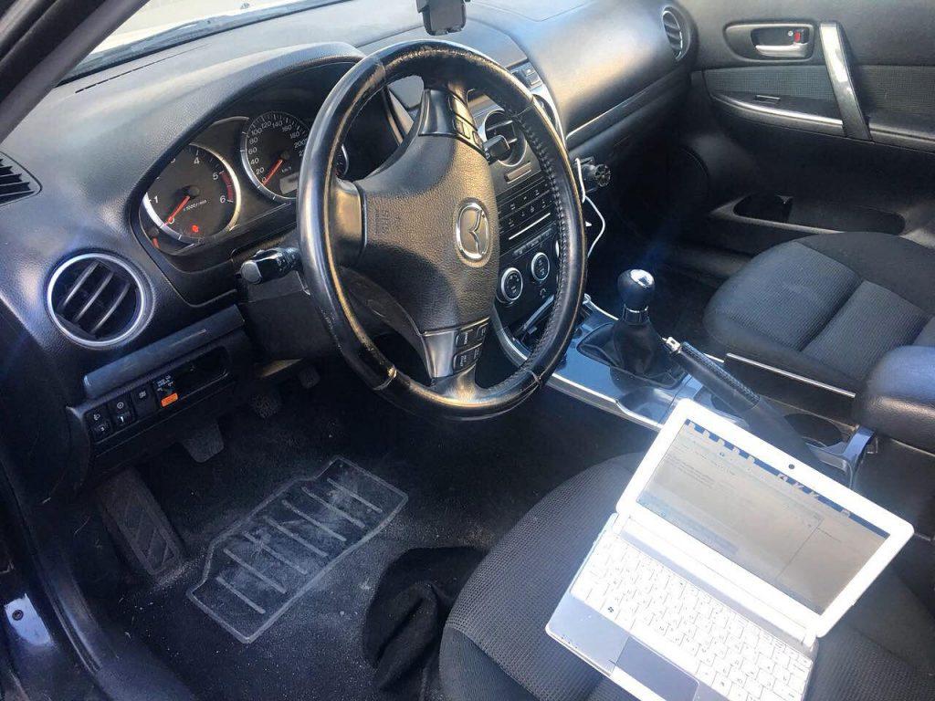 Отключение сажевого фильтра Mazda 6 2.0 TDI 2006
