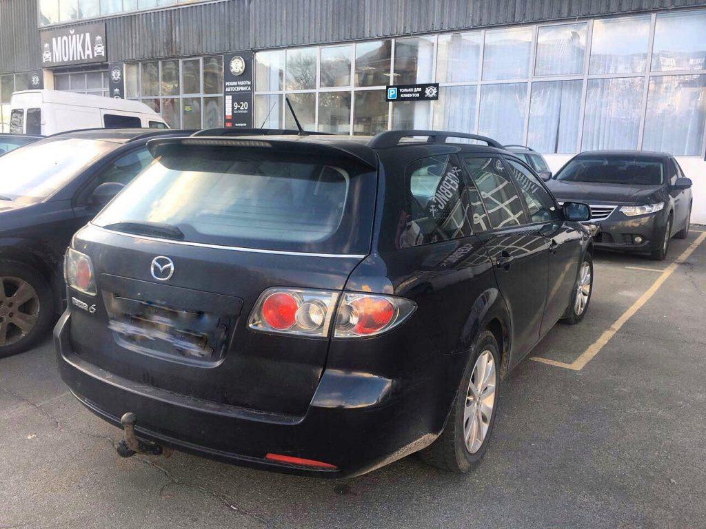 Mazda 6 2.0 TDI 2006 отключить сажевый фильтр