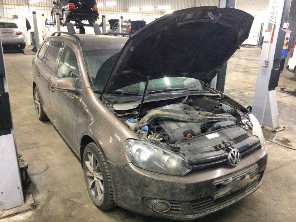 Volkswagen Golf 1.6 TDi 2012 заглушка и отключение клапана ЕГР