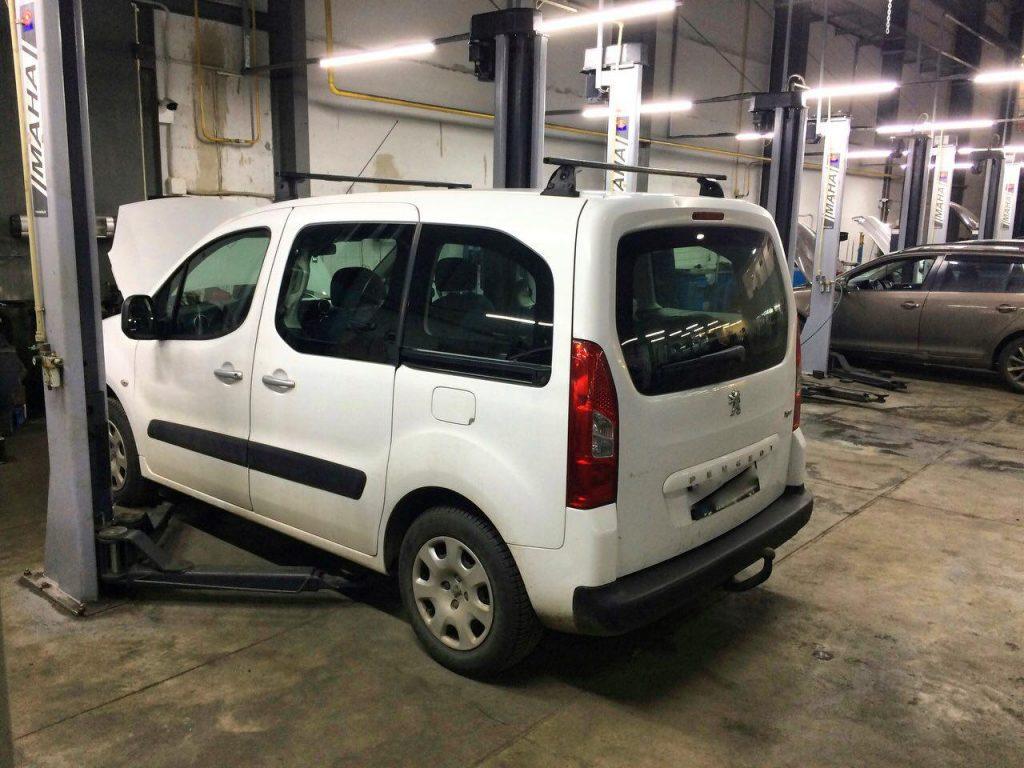 Peugeot Partner 1.6 HDI 2011 заглушить и отключить клапан ЕГР
