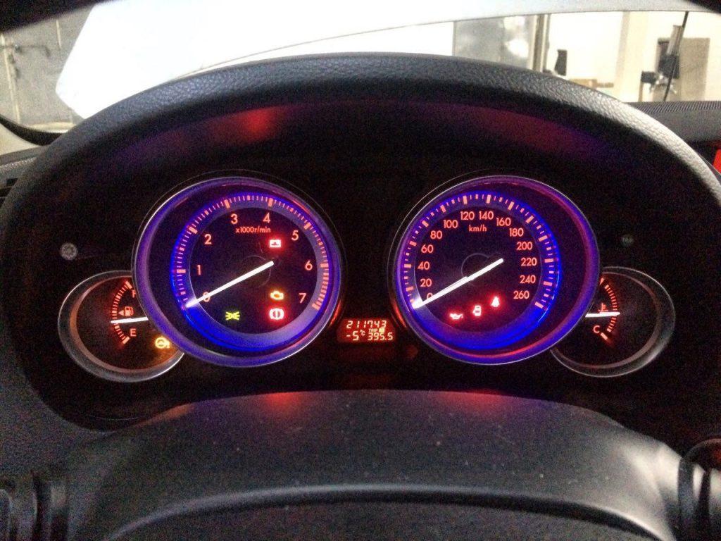 Удалить и отключить ктализатор Mazda 6 2.5 2008
