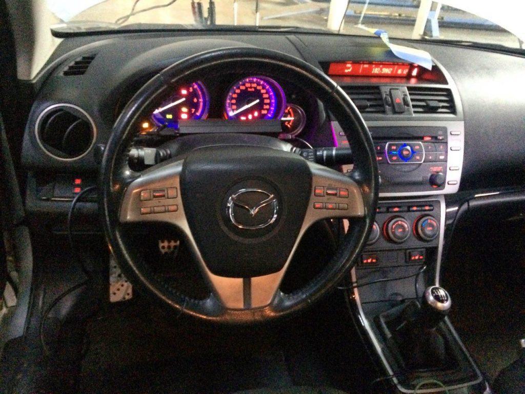 Отключить катализаторы в Киеве на Mazda 6 2.5 2008