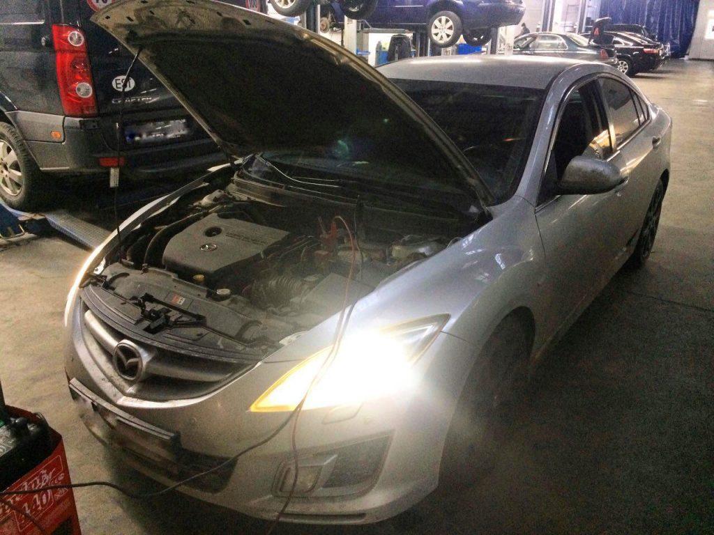 Отключить катализатор Mazda 6 2.5 2008