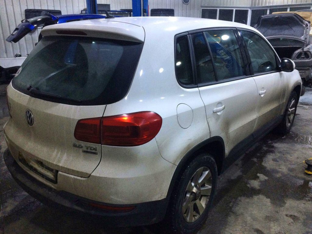 Отключить клапан ЕГР и сажевый фильтр на Volkswagen Tiguan 2.0 TDI 2011