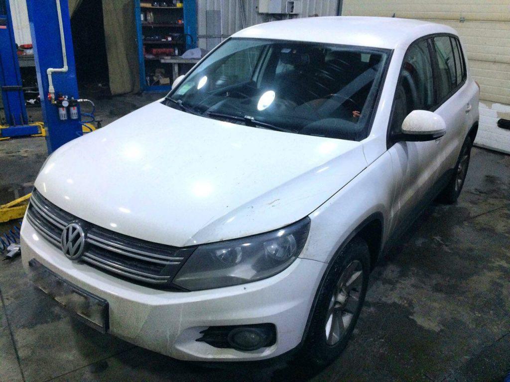 Отключить и удалить сажевый фильтр Volkswagen Tiguan 2.0 TDI 2011