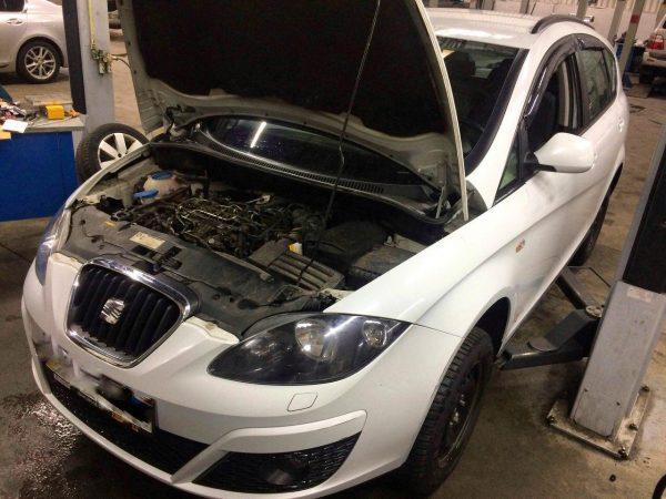 Удаление сажевого фильтра, заглушка клапана ЕГР, отключение ЕГР и сажевого на Seat Altea 1.6 TDI 2013