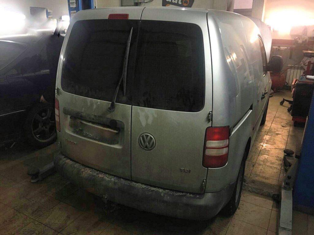 Заглушить клапан ЕГР и отключить, удалить сажевый фильтр и отключить Volkswagen Caddy 1.6 TDI