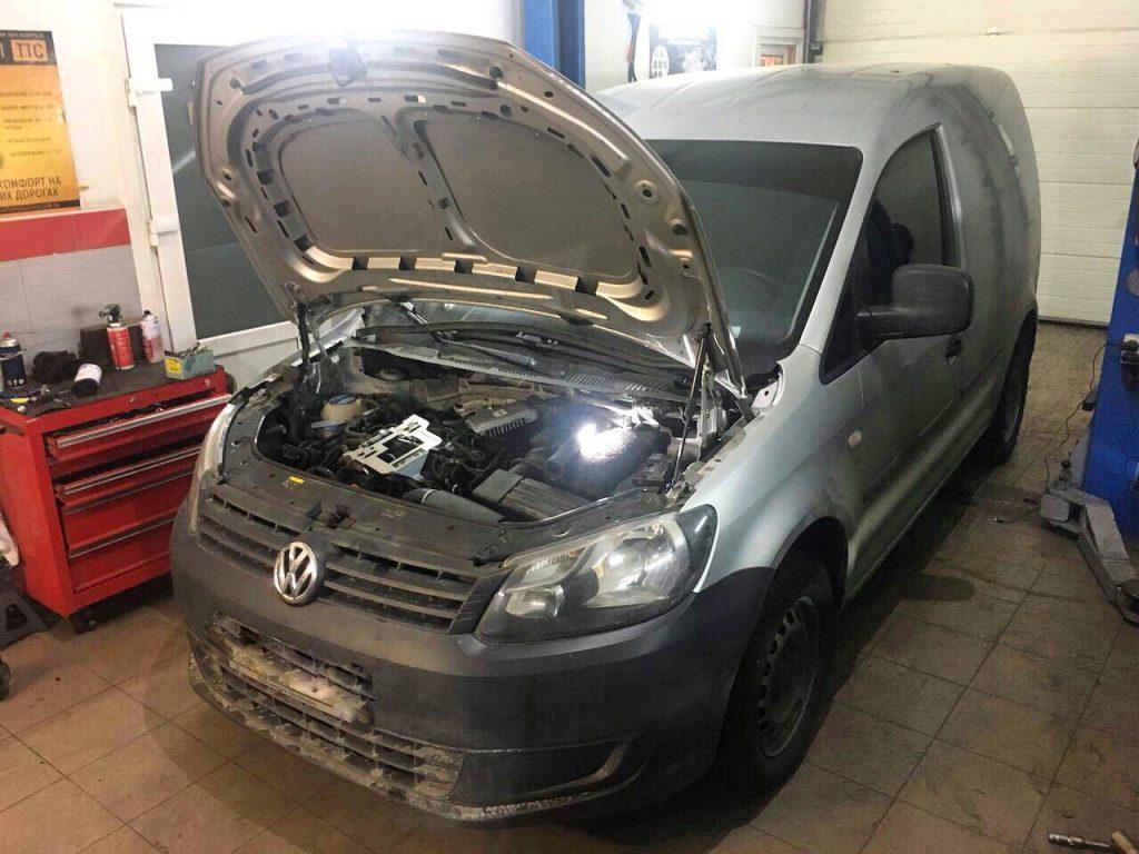 Отключить и удалить сажевый фильтр, заглушить и отключить клапан EGR в Киеве на Volkswagen Caddy 1.6 TDI