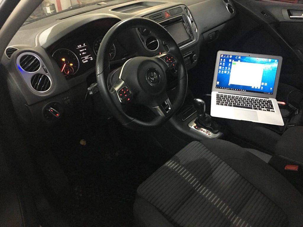 Отключение сажевого фильтра Volkswagen Tiguan 2.0 TDI 2011
