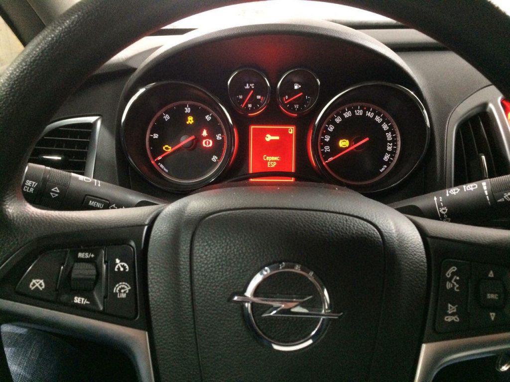 Отключить и удалить сажевый фильтр Opel Astra 1.7 CDTI 2013