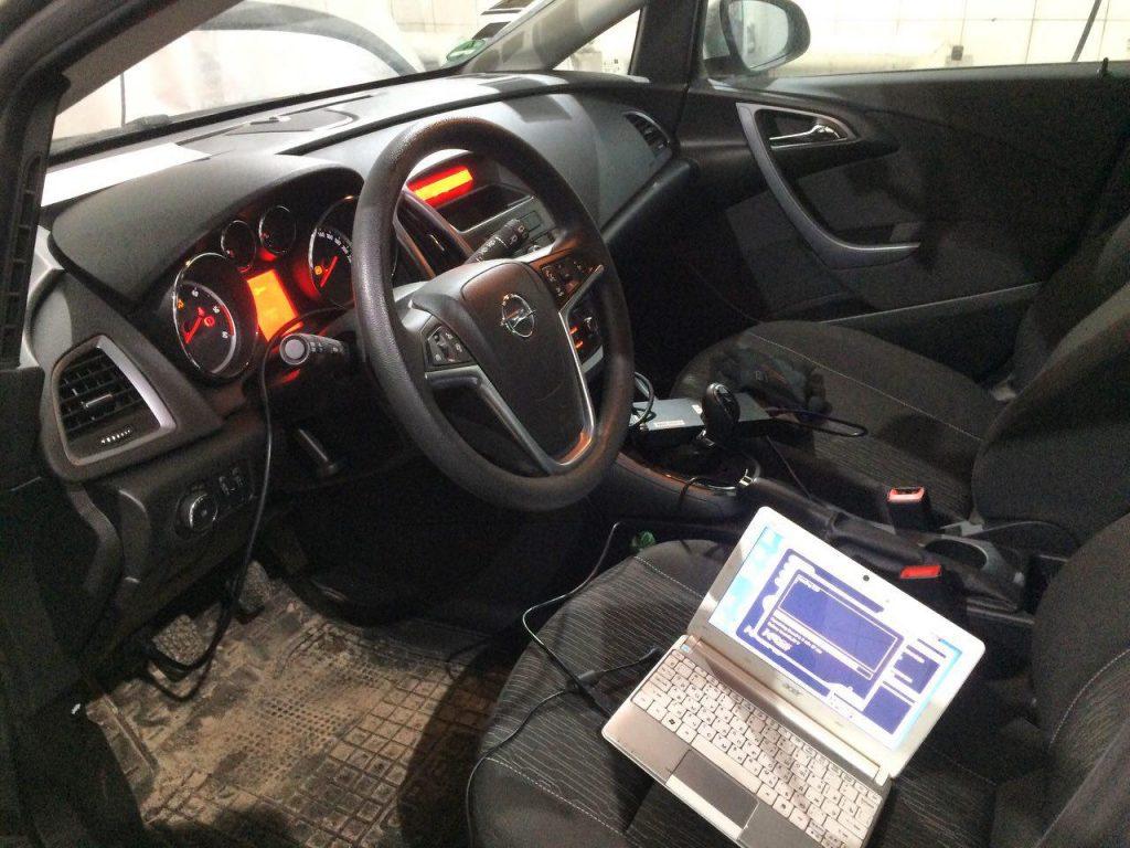 Отключение сажевого фильтра и клапана ЕГР Opel Astra 1.7 CDTI 2013