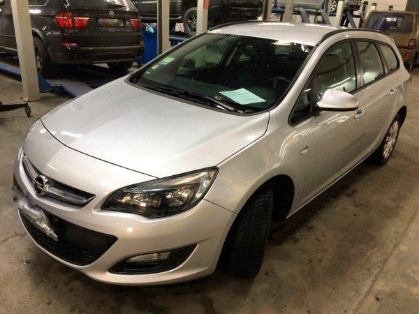 Удаление сажевого фильтра и отключение, заглушка клапана ЕГР и программное отключение клапана Opel Astra 1.7 CDTI 2013