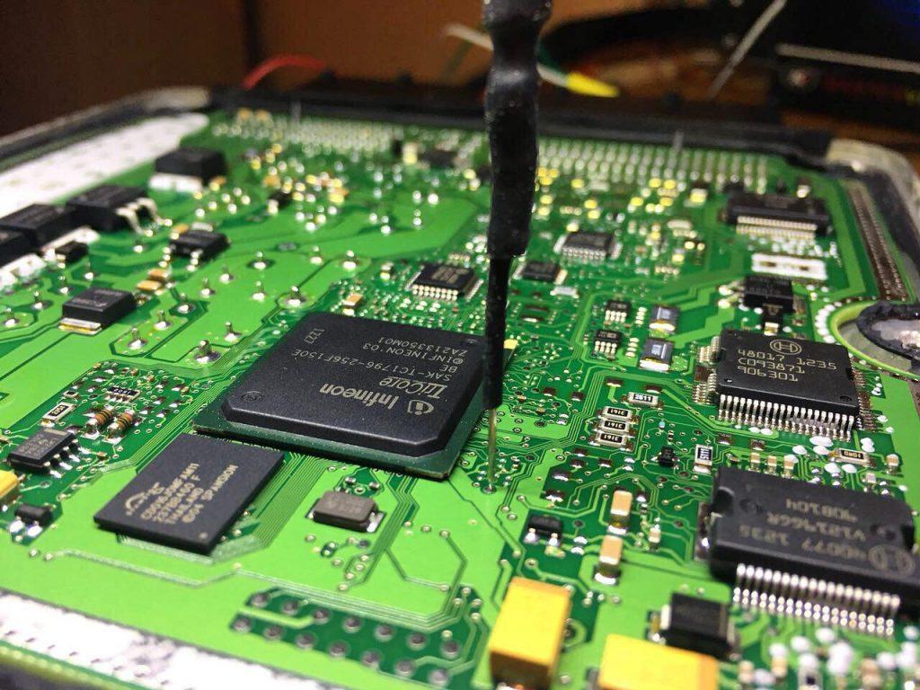 Отключение сажевого фильтра и клапана ЕГР Volkswagen Crafter 2.5 TDi 2013