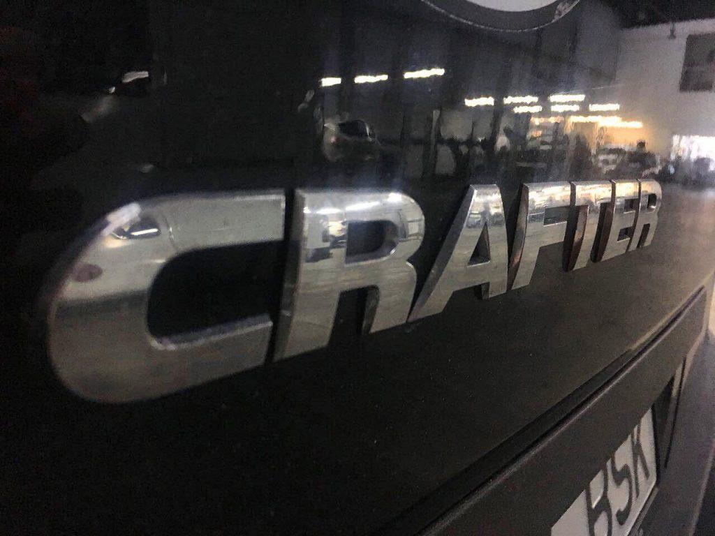 Volkswagen Crafter 2.5 TDi 2013 отключение и удаление фильтрующих выхлоп элементов