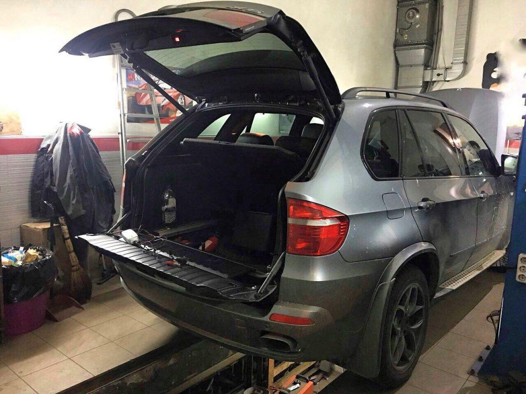 Отключение и удаление катализаторов BMW X5 4.8 2008