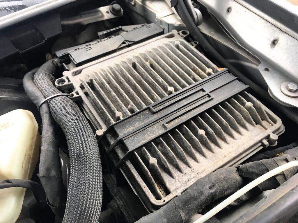 Программное отключение и физическое удаление сажевого фильтра на Mercedes-Benz W221 S420 CDI 4.0 2007
