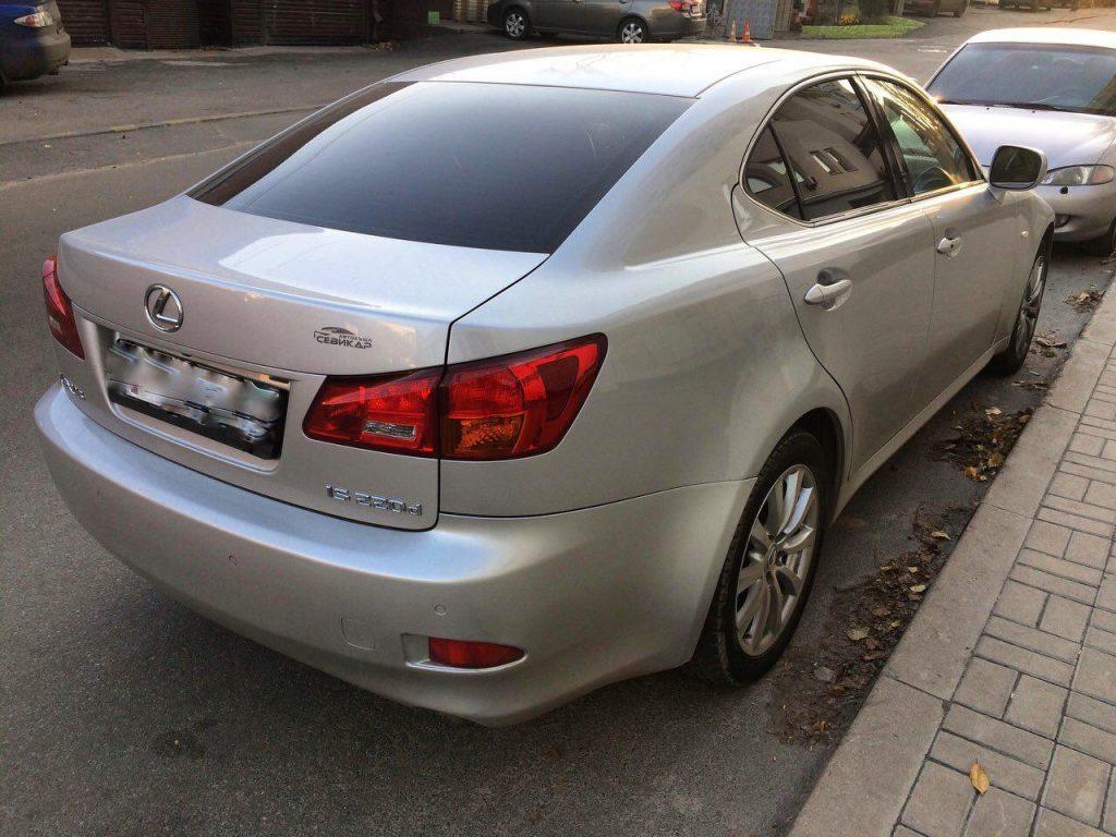 Отключить и удалить сажевый фильтр в Киеве на Lexus IS 220d 2.2 2007