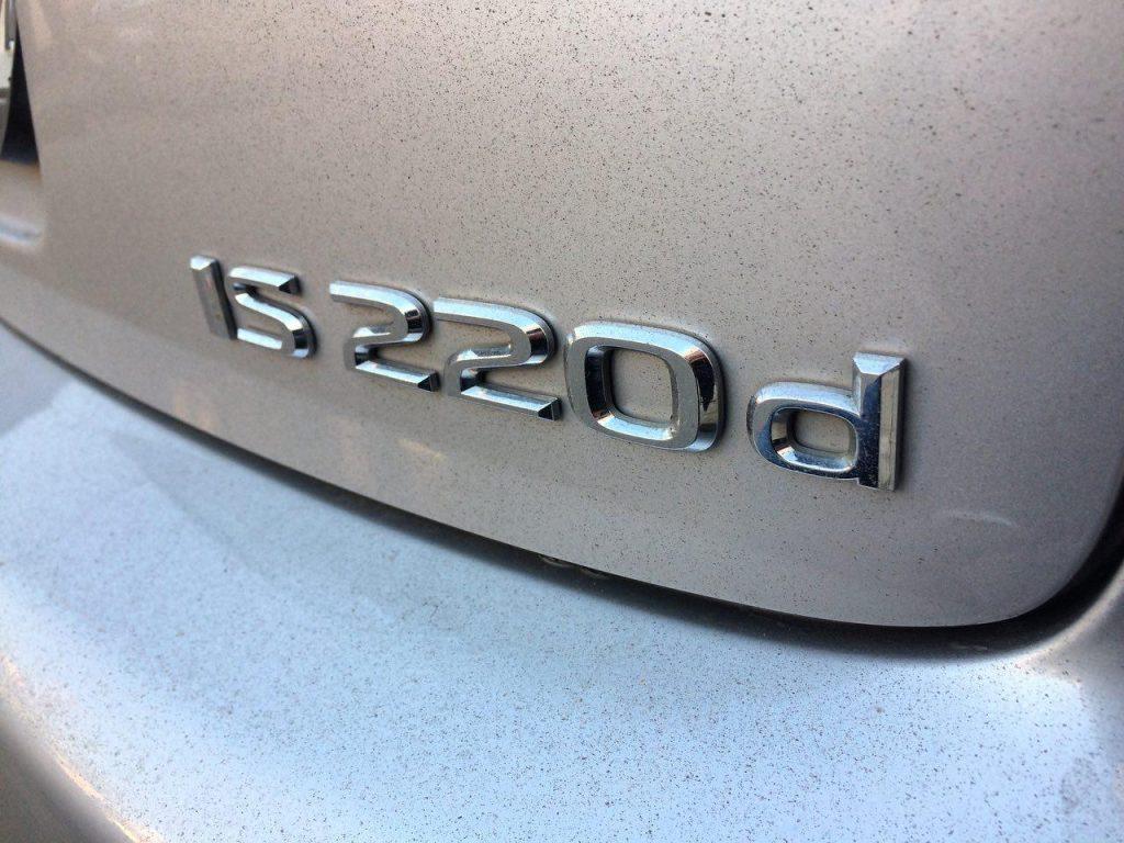 Lexus IS 220d 2.2 2007 удаление и отключение фильтра сажевого