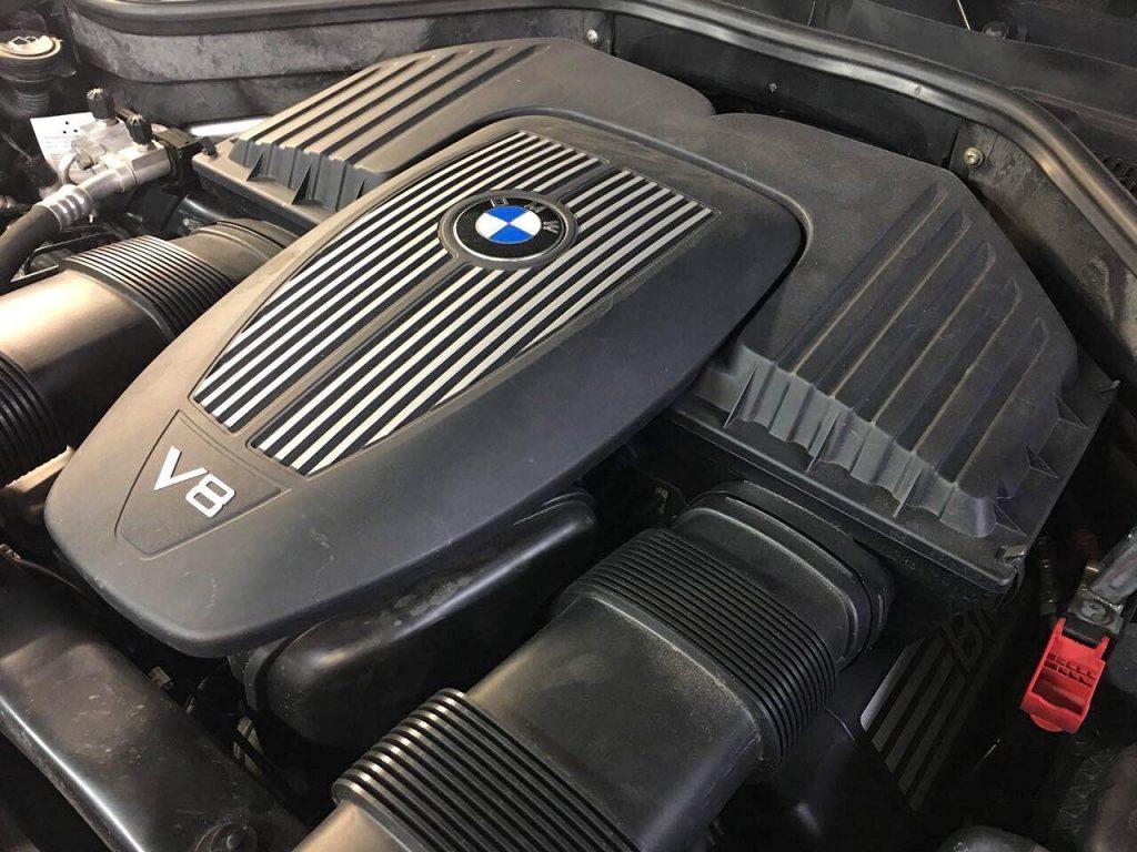BMW X5 4.8 2008 удалить катализаторы в Киеве