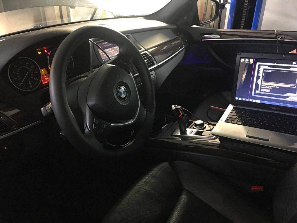 Отключение катализаторов на BMW X5 4.8 2008