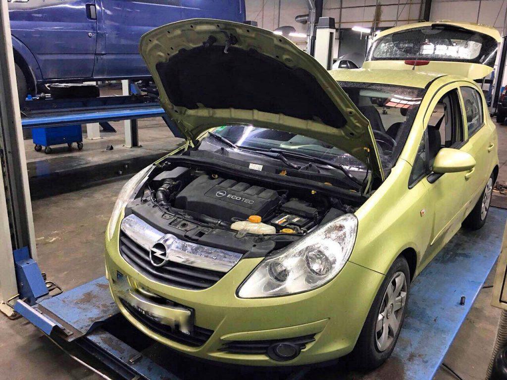 Удалить и отключить сажевый фильтр Opel Corsa 1.3 CDTI 2007