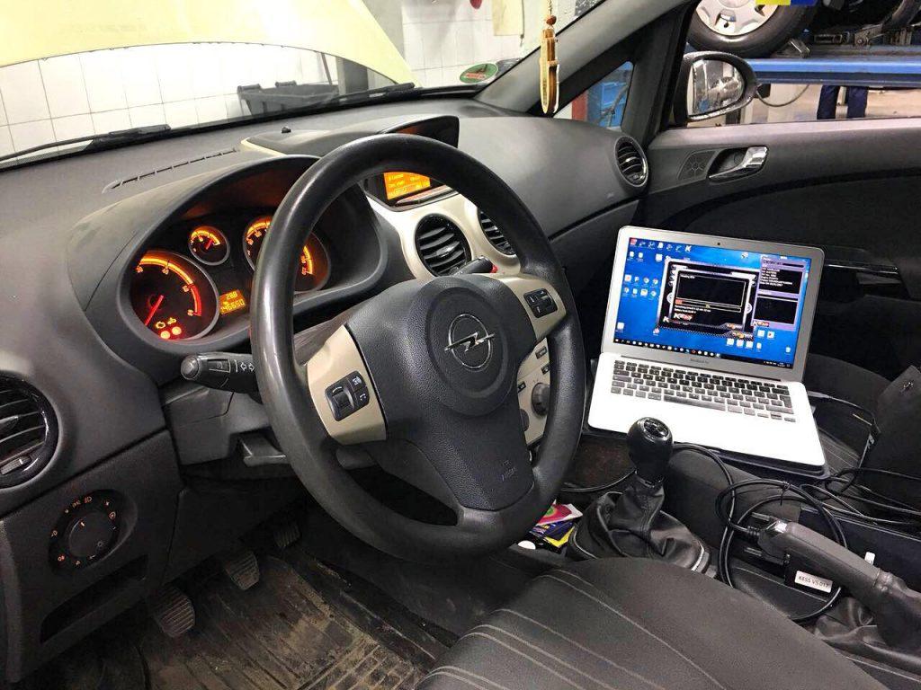 Отключение клапана ЕГР и сажевого фильтра Opel Corsa 1.3 CDTI 2007
