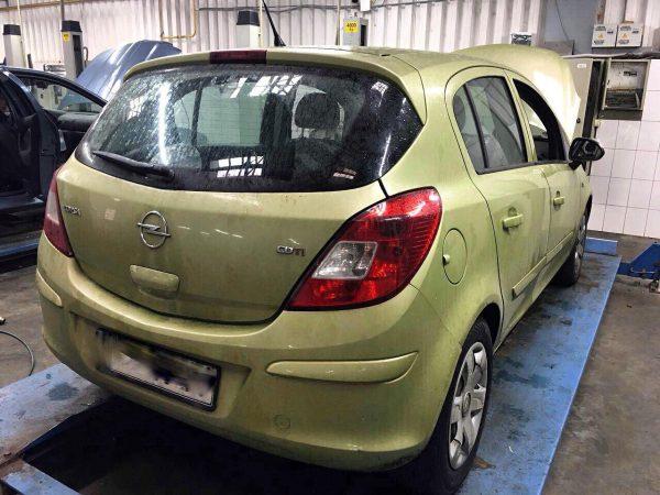 Клапан ЕГР и сажевый фильтр, отключение, удаление сажевого фильтра и катализатора Opel Corsa 1.3 CDTI 2007