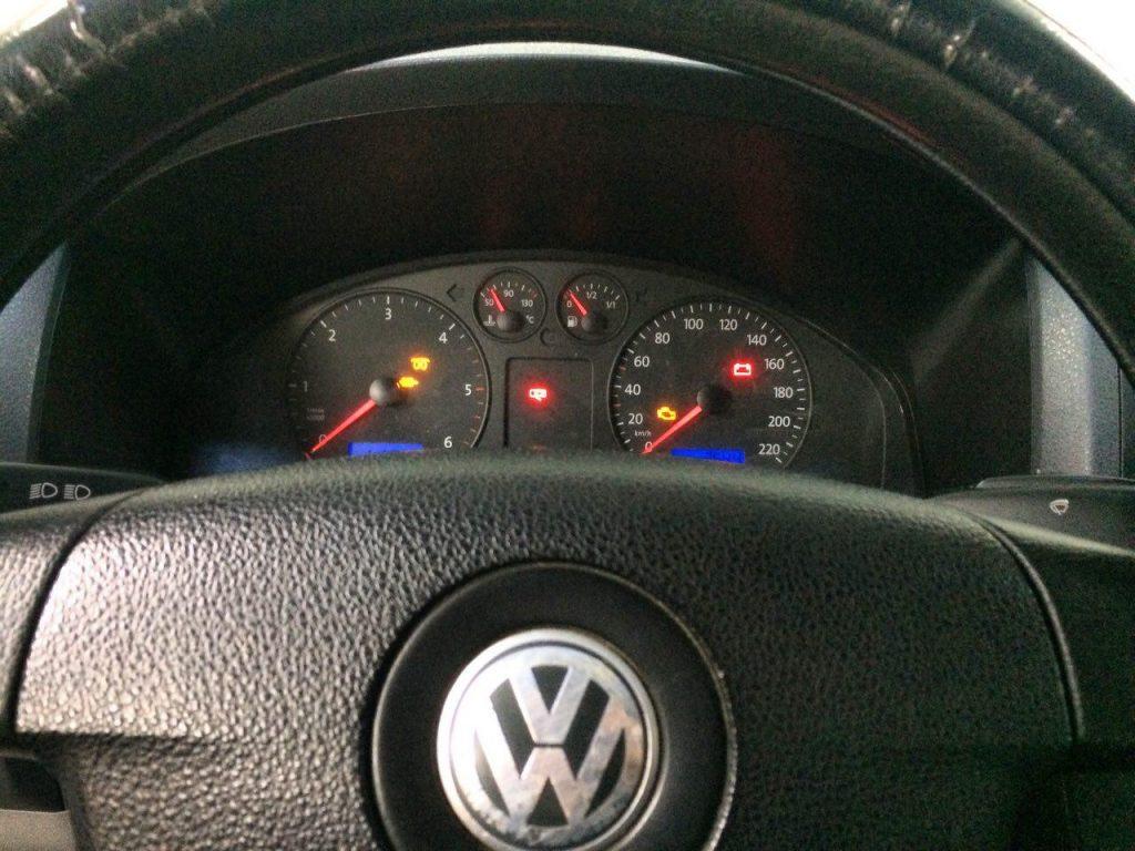 Volkswagen T5 1.9 TDi 2008 удаление сажевого фильтра и отключение