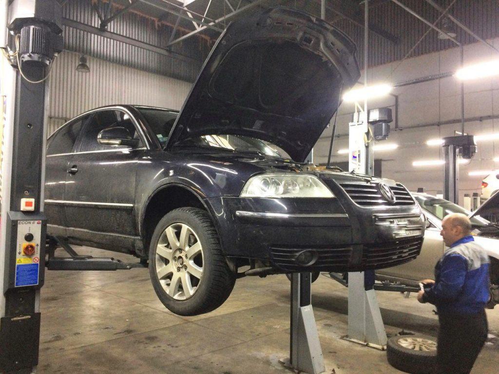 Удаление сажевого фильтра и заглушка клапана ЕГР на Volkswagen B5 2.5 TDI 2004