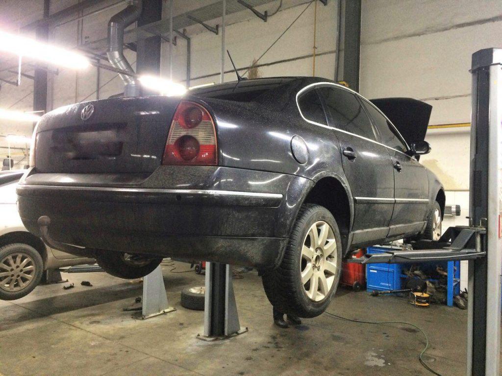 Отключить и удалить сажевый фильтр, заглушить клапан ЕГР и отключить в Киеве на Volkswagen B5 2.5 TDI 2004
