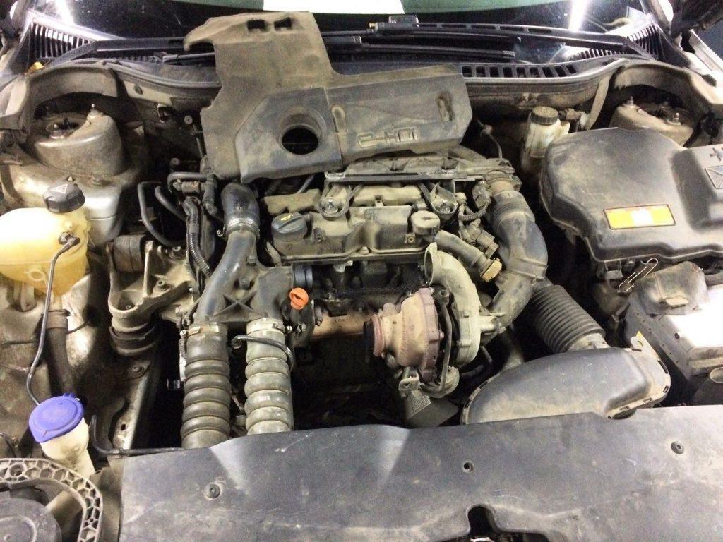 ЕГР-клапан, заглушить и отключить, удалить и отключить сажевый фильтр Citroën C5 1.6 HDi 2011