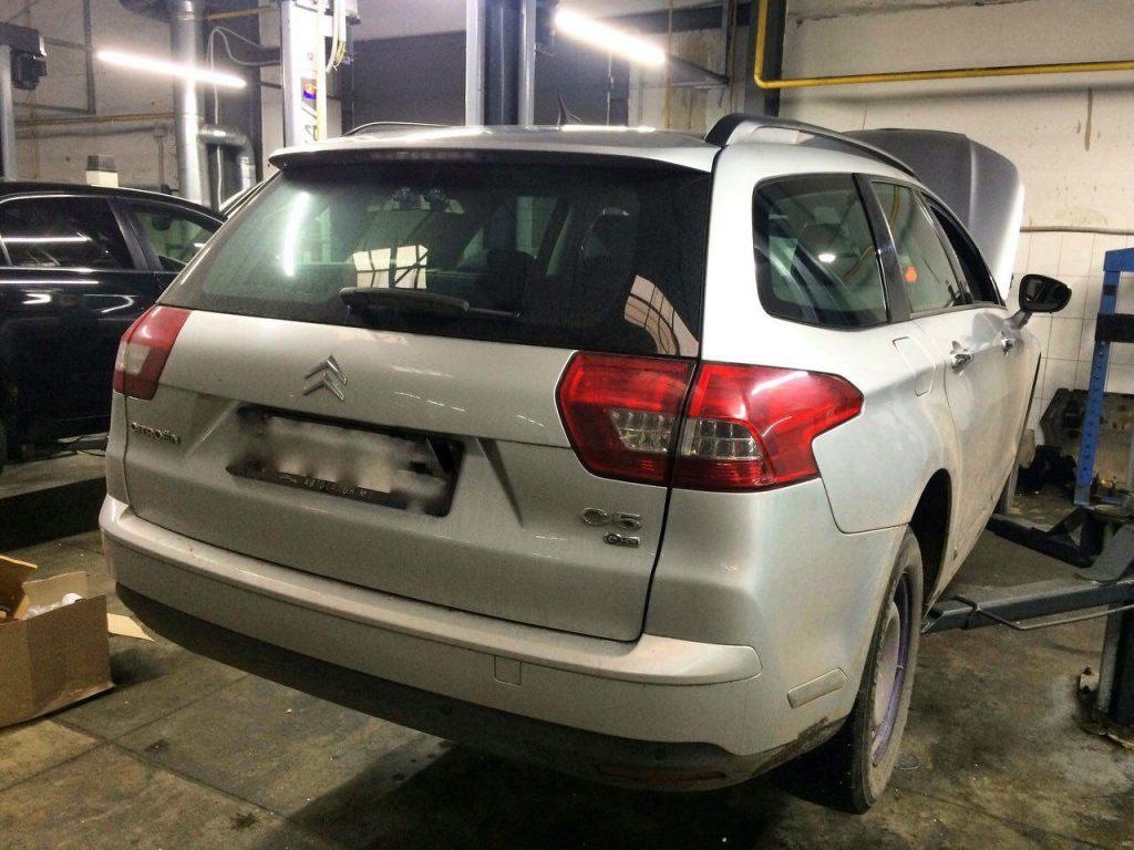 Отключение сажевого фильтра и клапана ЕГР, а так же удаление сажевого фильтра и заглушка клапана ЕГР на Citroën C5 1.6 HDi 2011