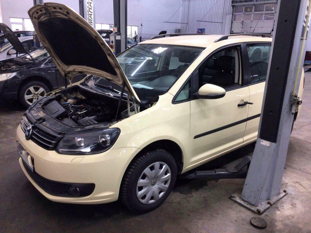 Удалить и отключить сажевый фильтр и клапан ЕГР на Volkswagen Touran 2.0 TDI 2013