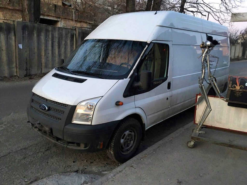 Удалить и отключить сажевый фильтр Ford Transit 2.2 TDCI 2012