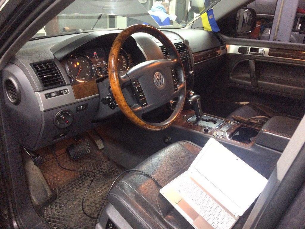 Отключение сажевого фильтра и клапана ЕГР на Volkswagen Touareg 3.0 TDi 2007