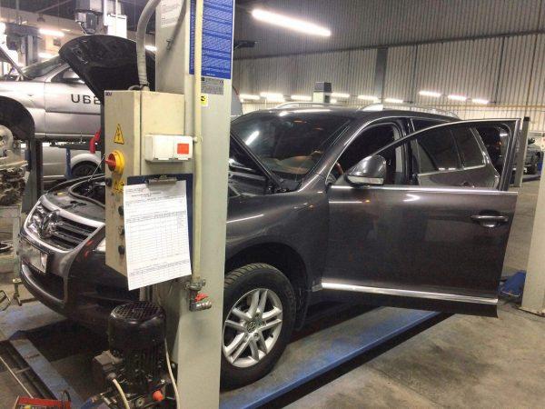 Заглушка клапана ЕГР и отключение, удаление и отключение сажевого фильтра Volkswagen Touareg 3.0 TDi 2007