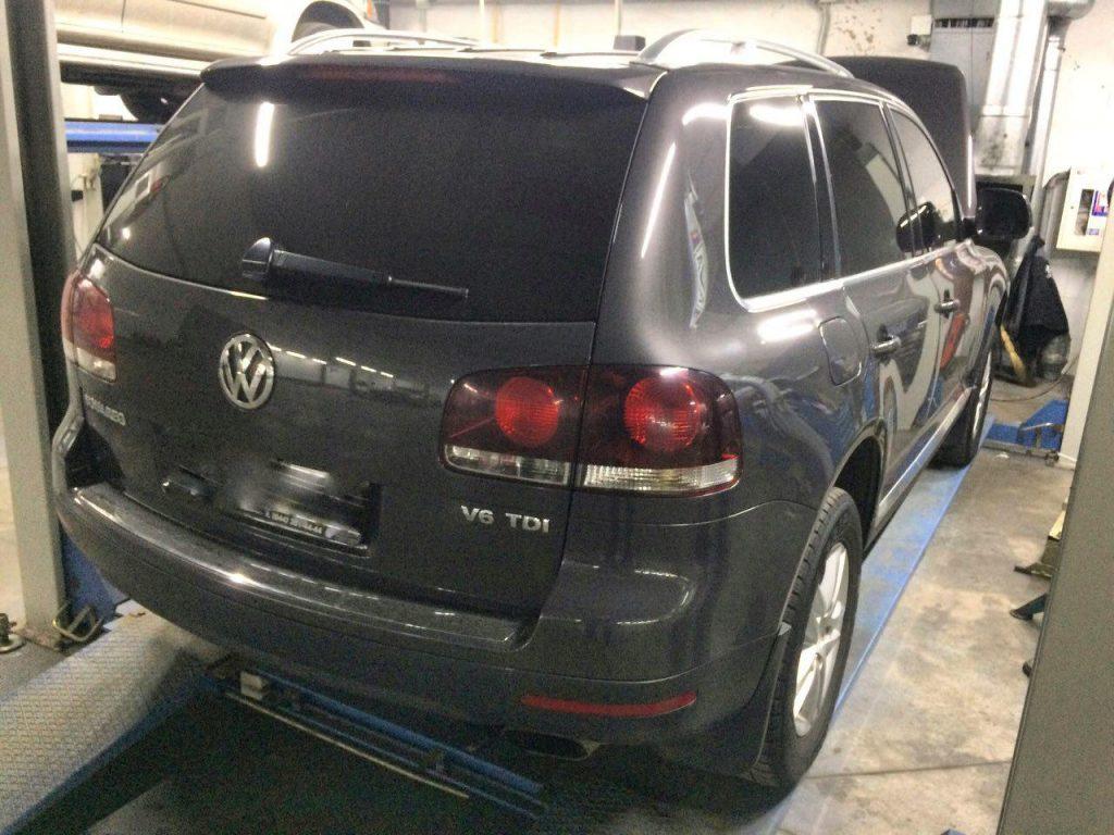 Удаление сажевого фильтра и заглушка клапана ЕГР Volkswagen Touareg 3.0 TDi 2007