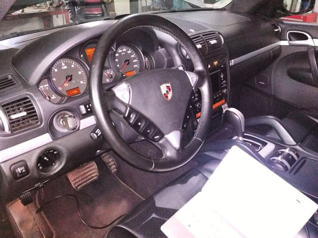 Отключение сажевого фильтра и клапана ЕГР на Porsche Cayenne 3.0 TDi 2009