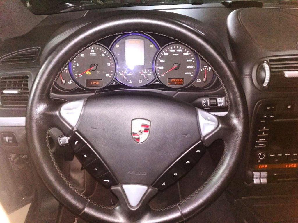 Porsche Cayenne 3.0 TDi 2009 отключить клапан ЕГР и удалить сажевый фильтр